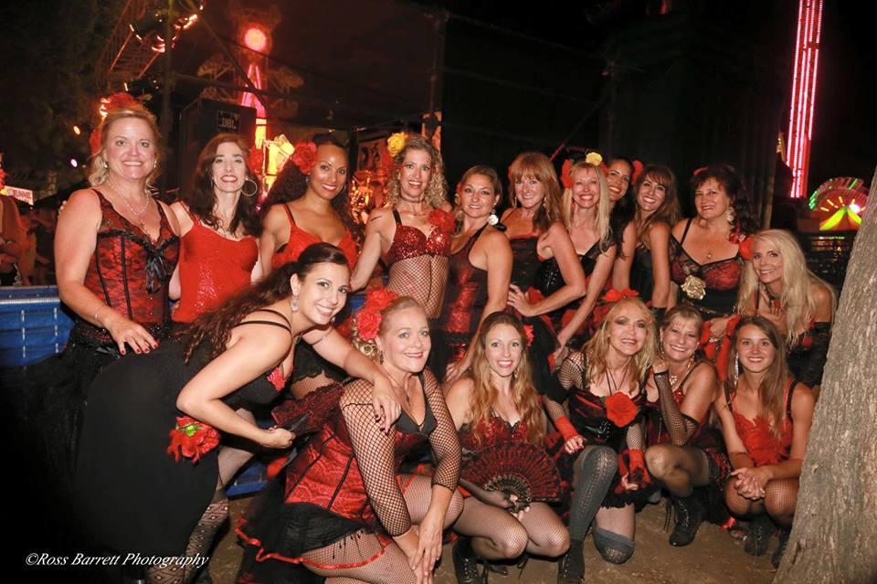 Santa Barbara La Boheme Dance Group - a Burlesque Fusion group