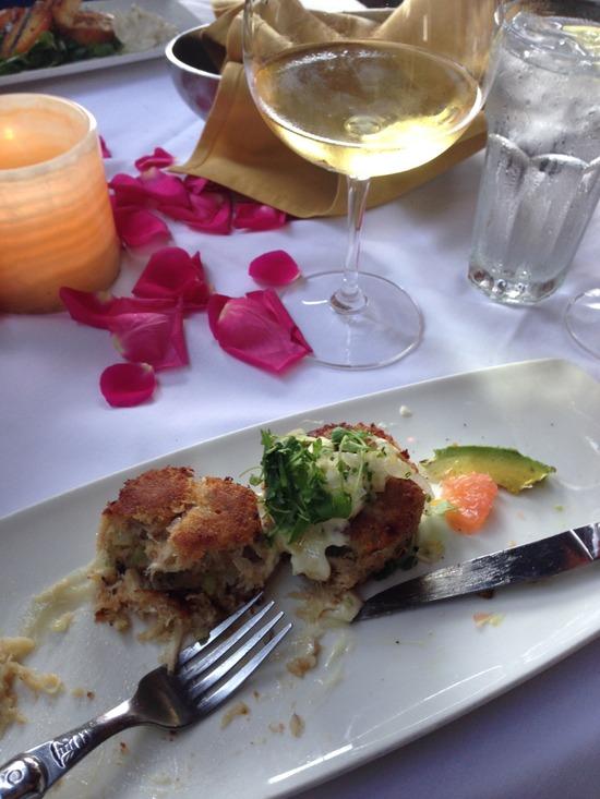 Romantic dining at Bouchon