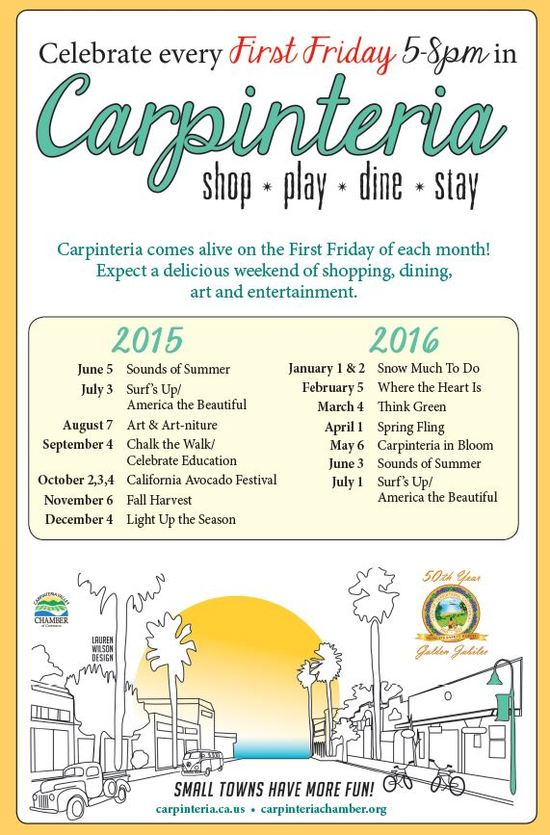 First Friday Directory Ad 2015