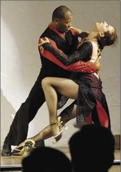 Tango L'amore - Yulia and Derrick Curtis will perform Cha-Cha to a song ''Dance with me''