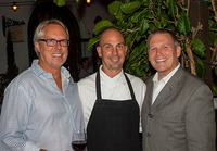 Doug Margerum, Wine Cask Chef David Rosner, Mitchell Sjerven
