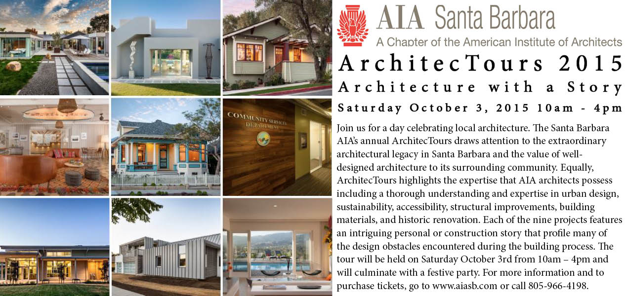 Tickets for 2015 ArchitecTour