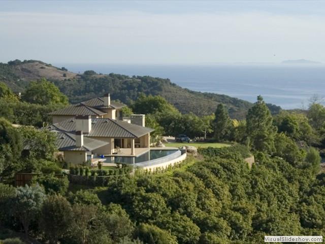 Overlooking Santa Barbara Estate Rental Home