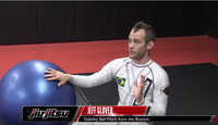 Jeff Glover, Stability Ball Work Bottom: Jiu-Jitsu Magazine, Issue #23