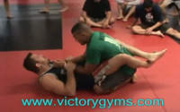 Victory MMA - Dean Lister Double Armbar from Guard