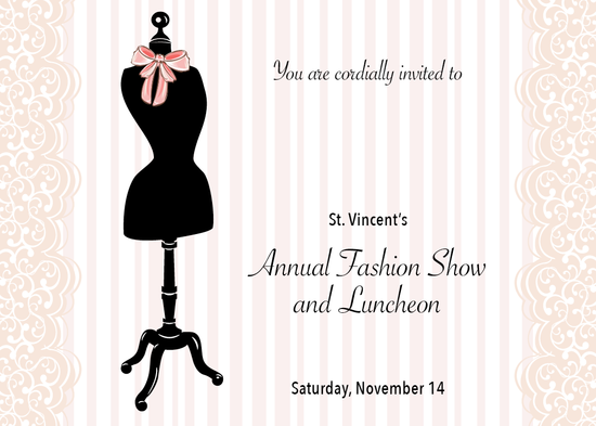 ANNUAL FASHION SHOW AND LUNCHEON