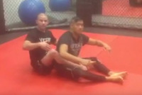 Adam Mazin - Arm bar triangle combo