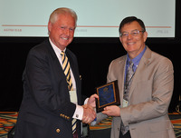 Dr. Lorne Everett Receives ASTM International Technical Editors Award