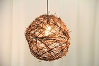 "Grapevine Lamp 18"""