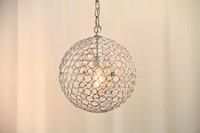 """Metal Bubble Lamp (12"""" w)"""