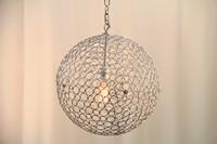 """Metal Bubble Lamp (14"""" w)"""