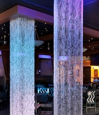 Square Beaded Columns - 20' Tall