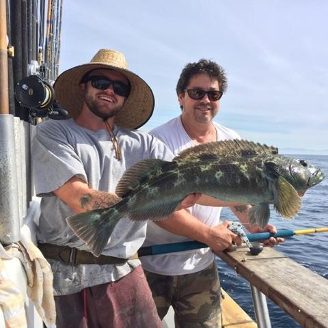 10.24.15 Limits Of Whitefish & Lingcod! Santa Barbara Chanel Islands-3