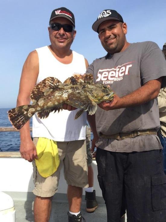 10.24.15 Limits Of Whitefish & Lingcod! Santa Barbara Chanel Islands-4