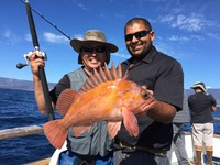 10.28.15 Good Fishing up the Santa Barbara Coast Morro Bay Avila-1