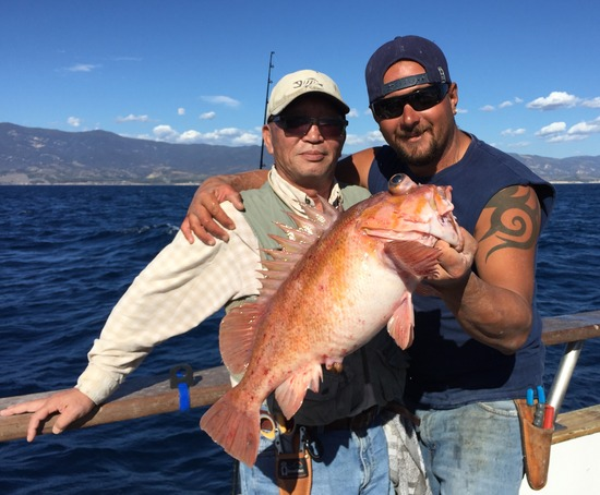 10.28.15 Good Fishing up the Santa Barbara Coast Morro Bay Avila-6