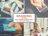 Branding Across Four Stages of your Customer Experience