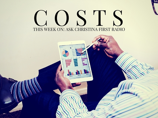 Thursday: Costs