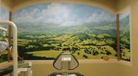 Healing Mural, trompe l'oeil & Native American flute music by Emiliano Campobello