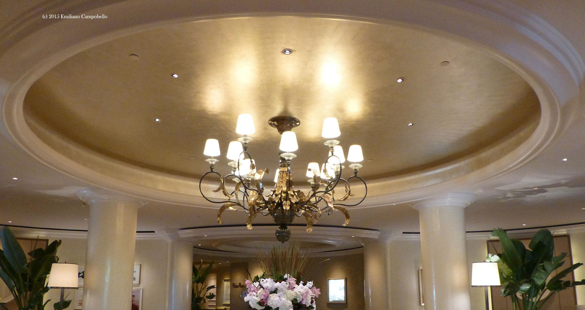 Beverly Hills Hotel Lobby Dome Emiliano Campobello