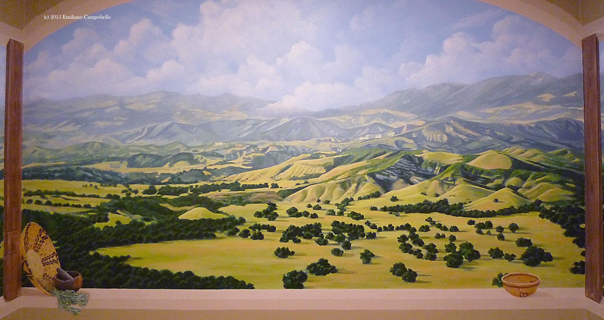 Chumash Landscape Emiliano Campobello