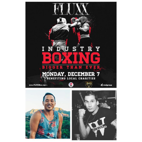 #industryboxing bout announcement #industry stars at 155 pounds we have @christophermtran (bootlegger) vs @theonlyfaron (Dtown ) this is the biggest industry event ever!