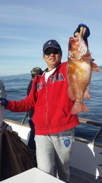 12.8.15 nice rockfish up the line-1