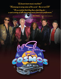 Rock and Roll Giants - 4 decades of Lil' Elmo & The Cosmos