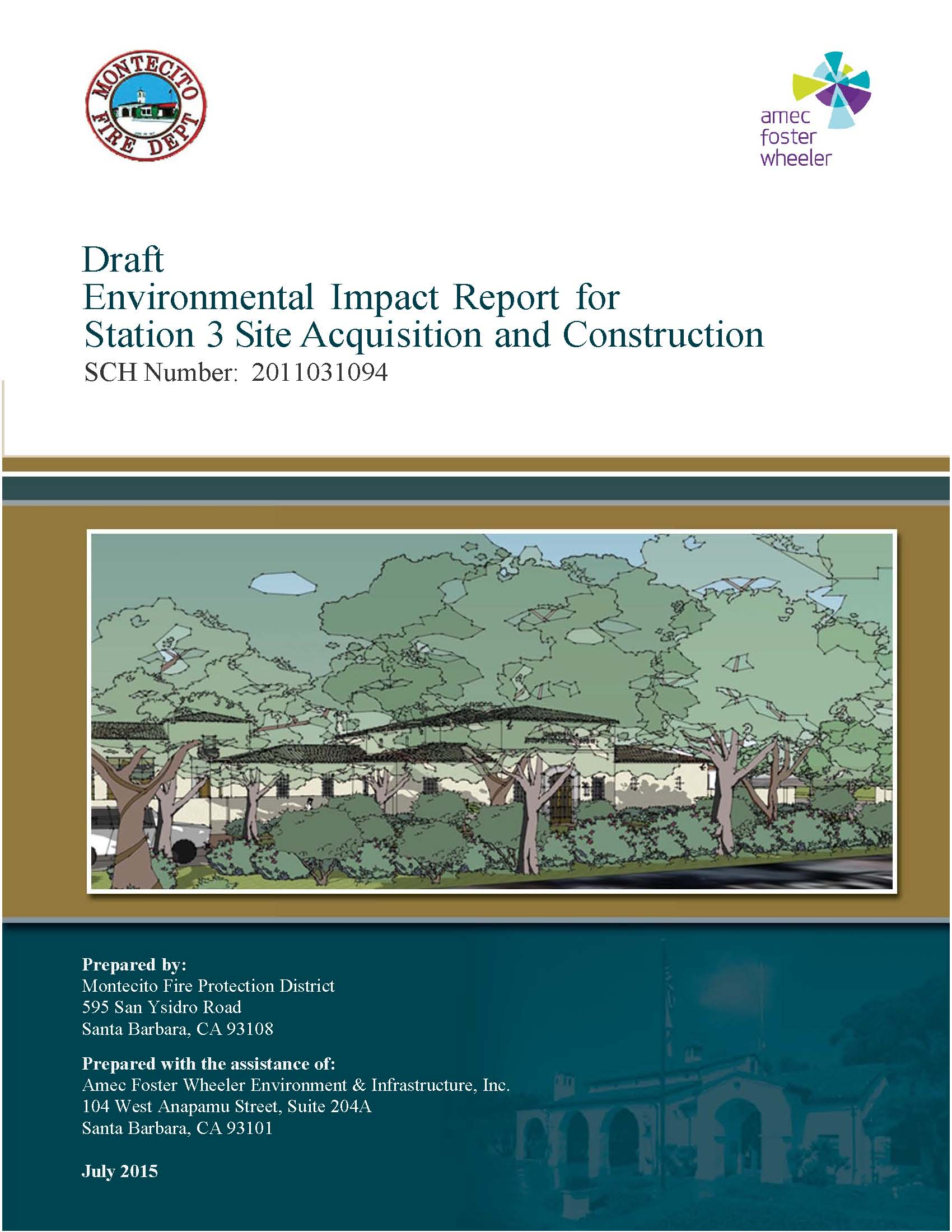 2015 Draft Environmental Impact Report for Station Three