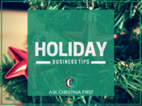 Holiday Business Tips