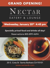 Grand Opening - Nectar Eatery and Lounge!