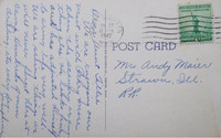 WYOMING: Post Office Mailing Letters to Forever