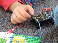 Lego Inventions, Computer Building and Electric Circuits-4