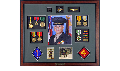 Veterans Building Shadow Boxes-12