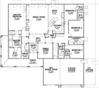 Calder Ranch Plan 1