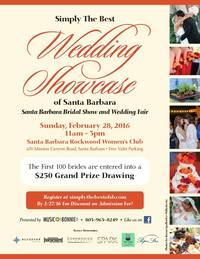 Meet Santa Barbara Event Professionals at Simply the Best Wedding Showcase