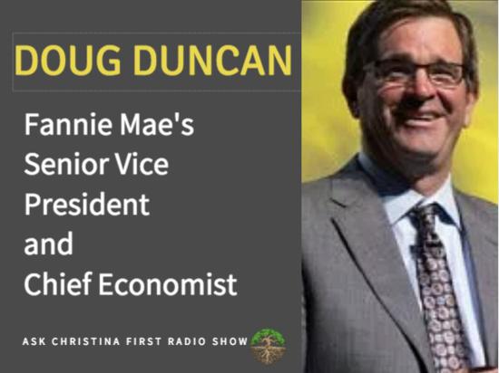 Doug Duncan Senior VP of Fannie Mae