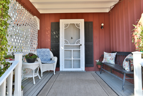 1189 No Ontare Rd Santa Barbara Calif- FRONT PORCH