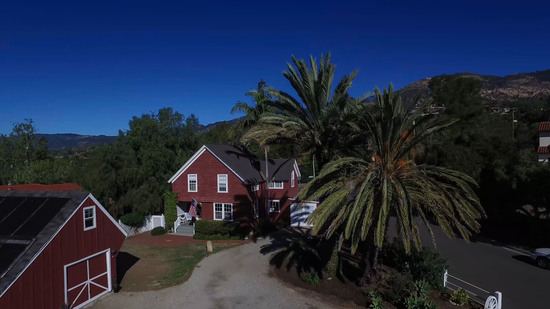1189 No Ontare Rd Santa Barbara Calif- GARAGE & FARMHOUSE