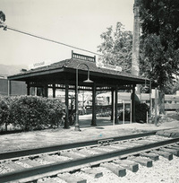 The railroad was finally completed and Miramar became a flag station with its own station platform, flag signal and ticket agency.