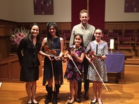 String Recital at First Congregational Church, Santa Barbara March 12, 2016