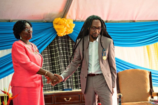 St. Lucian reggae artist and humanitarian Taj Weekes receives top humanitarian award