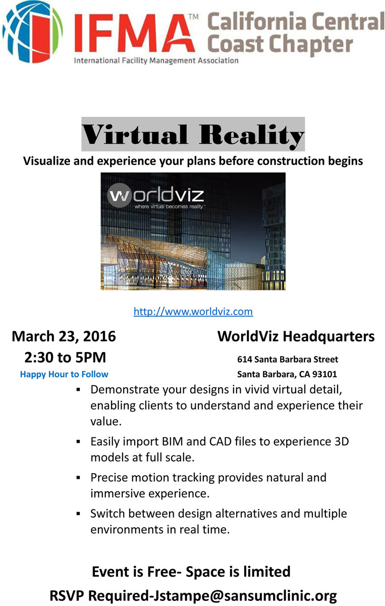 WorldViz Headquarters Tour - Virtual Reality