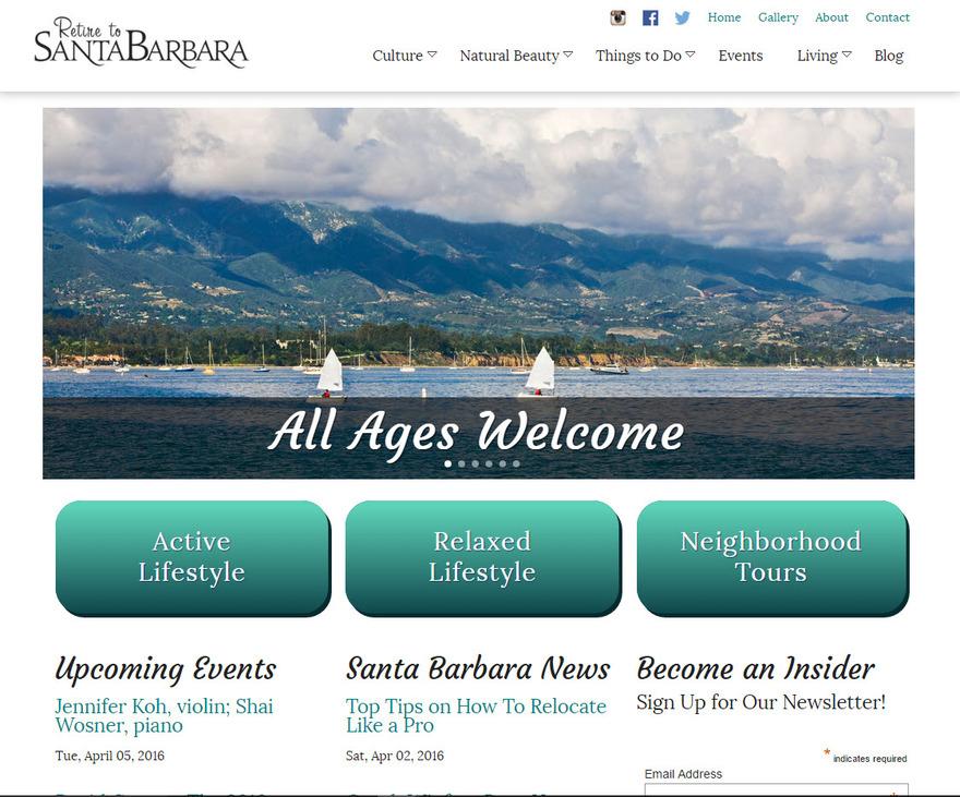 Retire to Santa Barbara