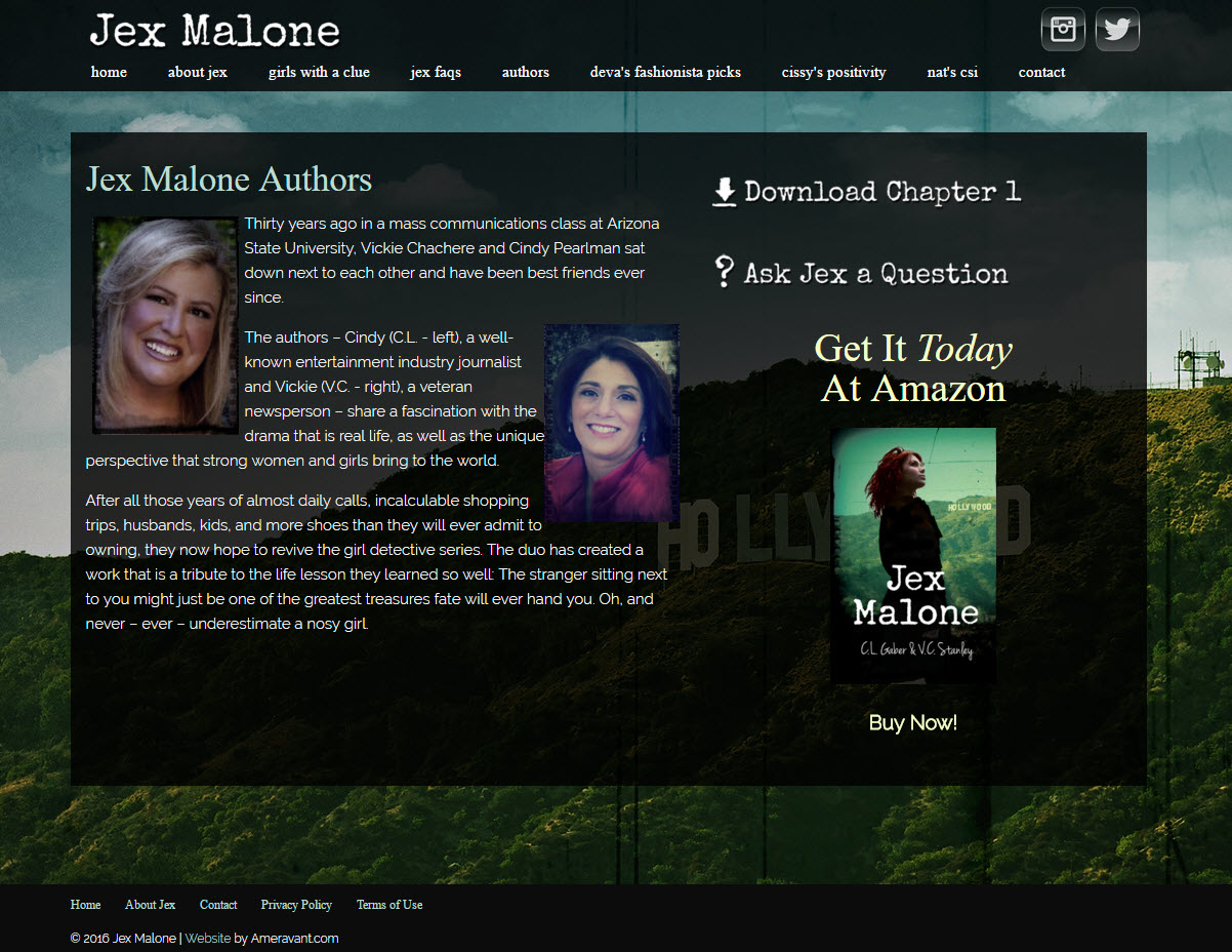 Jex Malone - The Book Authors
