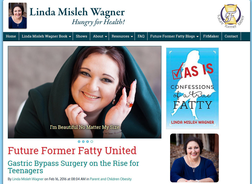Future Former Fatty United - Linda Misleh Wagner Author