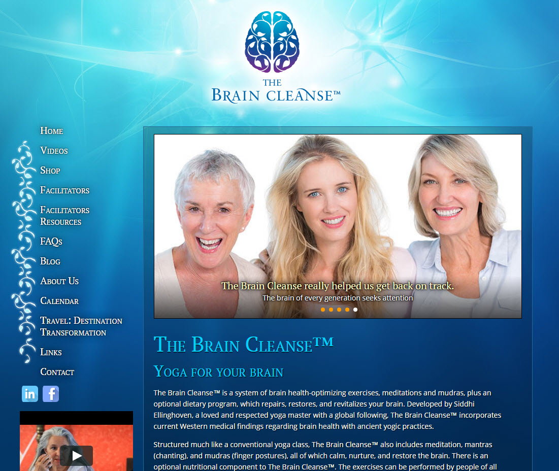 The Brain Cleanse� (TBC) - Author - Facilitator