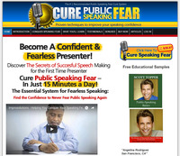 Cure Public Speaking Fear - Author - Keynote Speaker