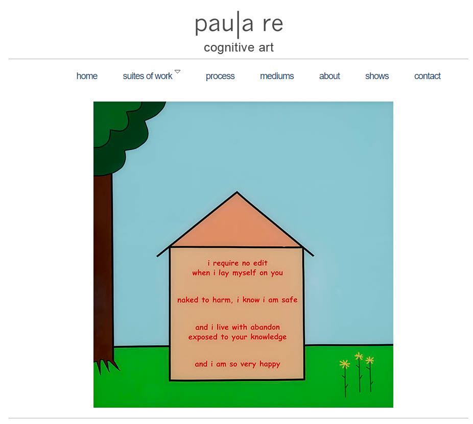 Poetre - Cognitive Art - by Paula Re