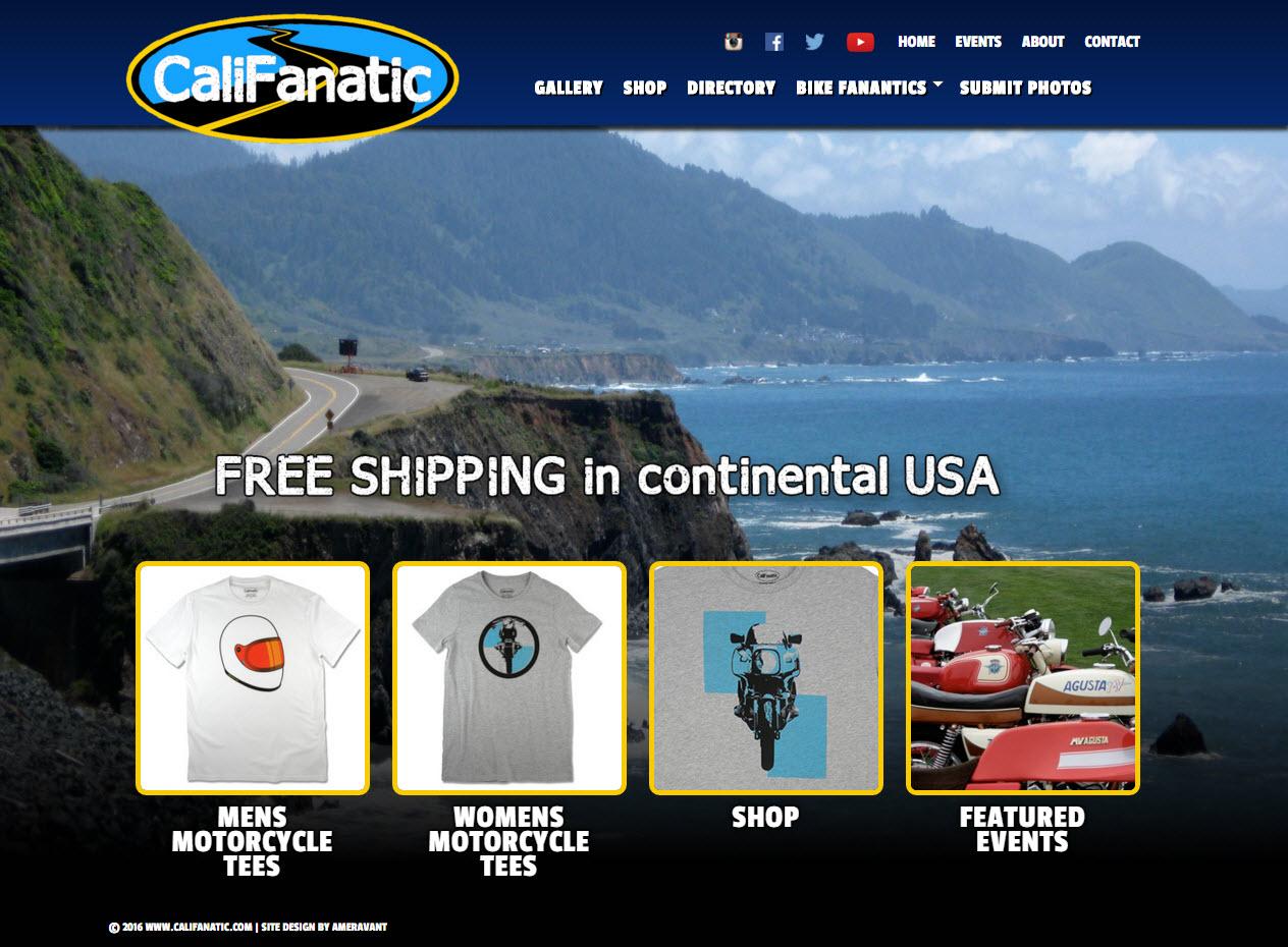 Custom Motorcycle T-shirts - Califanaitc.com